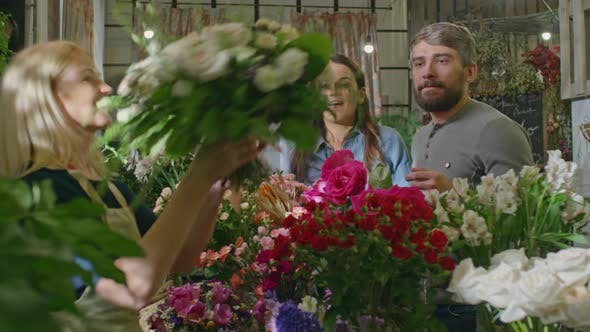 Thumbnail for Couple in Flower Shop
