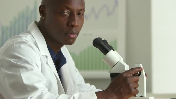 Thumbnail for African American medical researcher