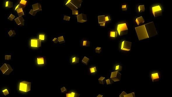 Gold-Würfel