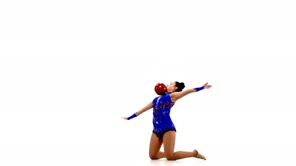 Thumbnail for Artistic Gymnastics with a Ball