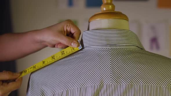 Thumbnail for Tailor Measuring Width Of Shoulders 20
