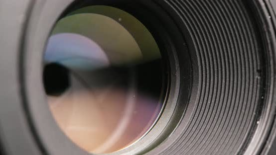 Camera lens focus and zoom