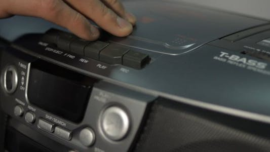 Thumbnail for Inserting a Compact Disk into CD Player