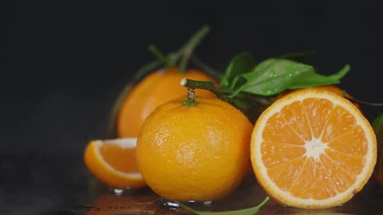 Thumbnail for Fresh Tangerines with a Cool Steam.