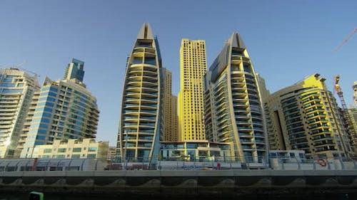 Identical towers in Dubai