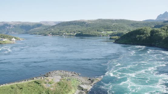 Thumbnail for Saltstraumen norway water maelstrom nature