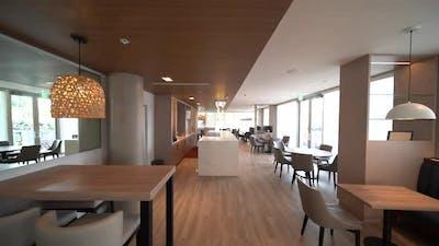 Hotel Restaurant Area