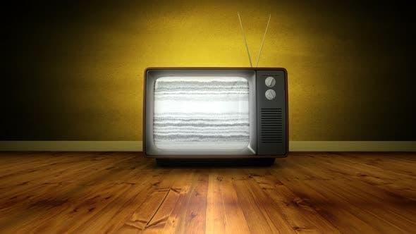 Vergrößern des alten Fernsehers und kein Signal