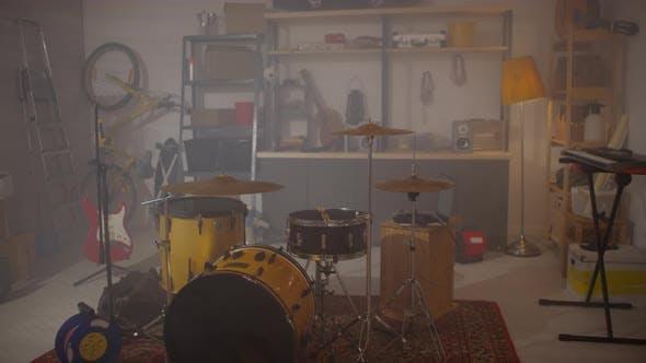 Home Studio In Garage