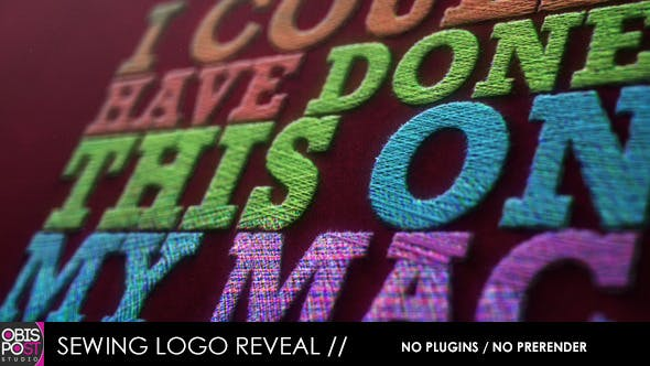 Thumbnail for Sewing Logo Reveal