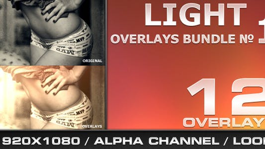 Thumbnail for Light Overlays Bundle - 1