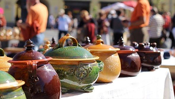 Handmade Food Pottery