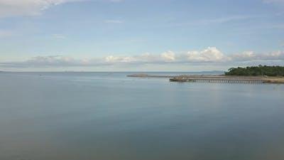 Sea Beach Aerial View