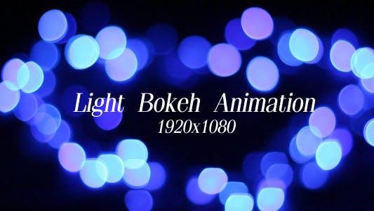 Thumbnail for Light Bokeh Animation