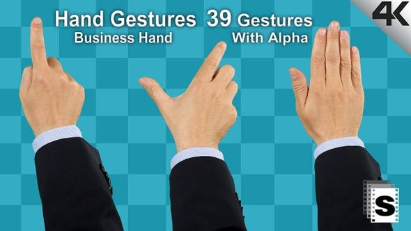 Thumbnail for Hand Gestures Business