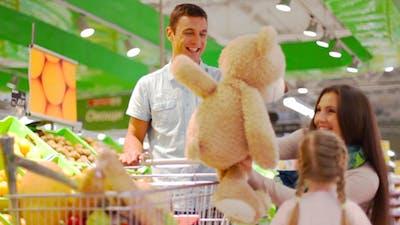 Supermarket Teddy
