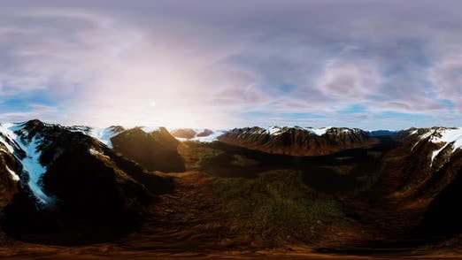 Thumbnail for VR 360 Panorama of Arctic Spring in Spitsbergen
