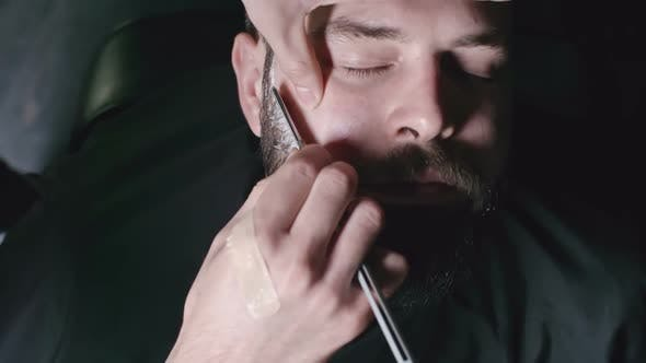 Thumbnail for Straight Razor Beard Shave by Male Barber