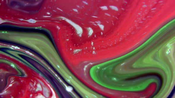 Thumbnail for Psychedelic Paint Swirling And Explosion Background