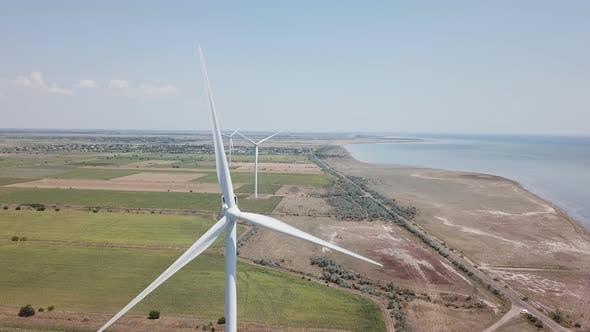 Thumbnail for Windkraftanlage aus einer Höhe