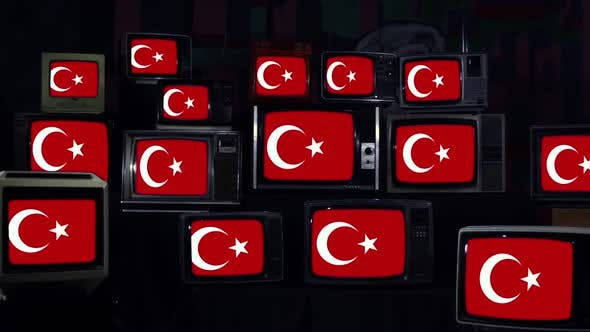 Thumbnail for Flag of Turkey and Vintage Televisions.