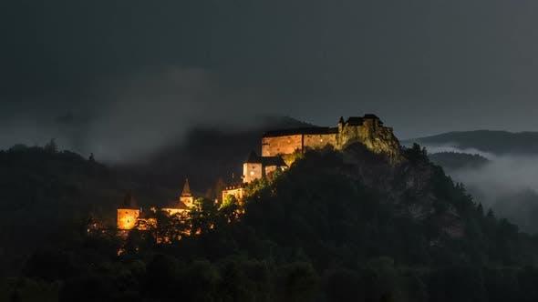 Thumbnail for Dramatic Night Historic Castle