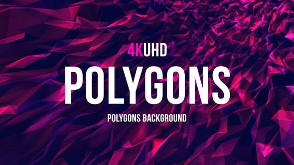 Thumbnail for Polygons Background 4k