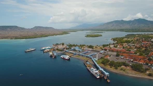 Thumbnail for Sea Passenger Ferry Port, Gilimanuk. Bali,Indonesia.