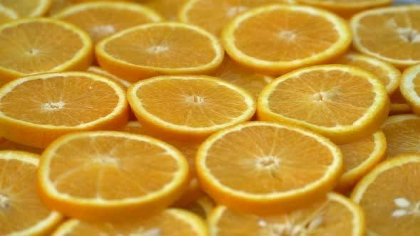 Thumbnail for Rotate Fresh Citrus Oranges Fruits