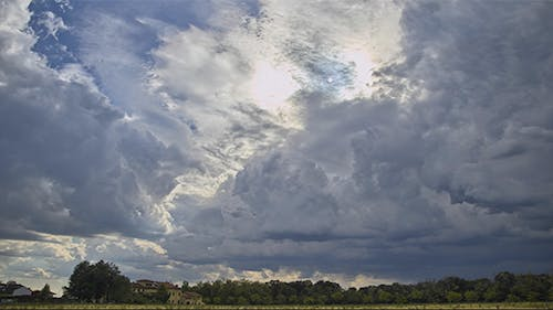 Incoming Storm Clouds Time Lapse