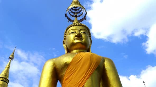 Thumbnail for Buddha Gold Sculpture Thailand