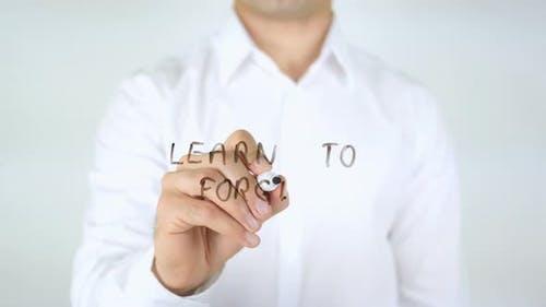 Lerne zu vergeben
