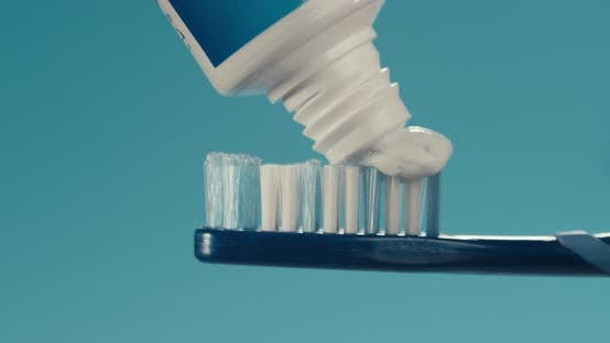 Cover Image for Putting Toothpaste On A Brush