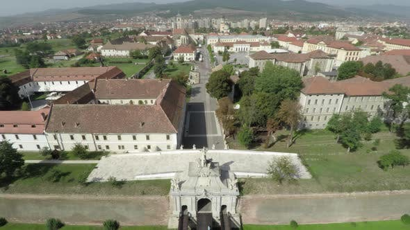 Thumbnail for Aerial view of the citadel of Alba Iulia