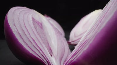 Onion close-up