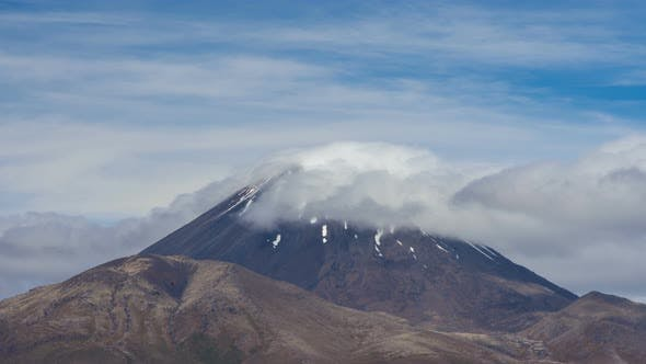 Thumbnail for Famous Volcano from Tongariro National Park