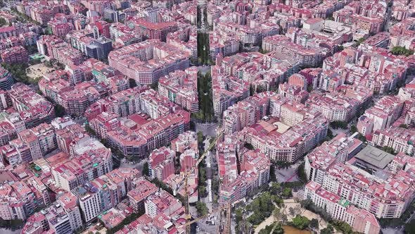 Thumbnail for Spain Barcelona Aerial View