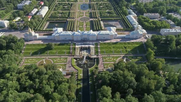 Thumbnail for Flight Over the Lower Park Peterhof, Russia