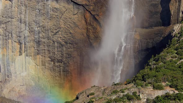 Thumbnail for Yosemite Falls at Yosemite National Park