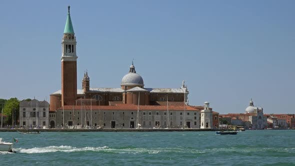 Thumbnail for View of San Giorgio Maggiore, Venice From Boat