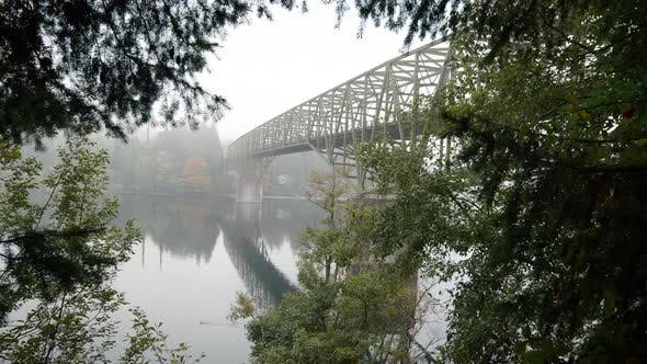 Motion Reveal Of Agate Passage Bridge On Bainbridge Island