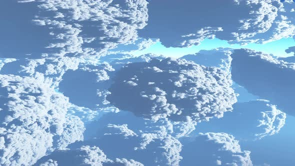 Thumbnail for Earth View Above The Cloud 07 4K