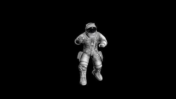 Astronaut Funny Dance