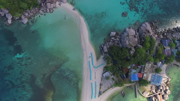 Thumbnail for Top View at Small Beach