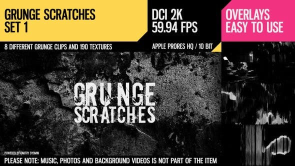 Cover Image for Grunge Scratches (2K Set 1)