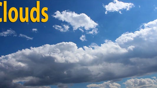 Thumbnail for Clouds And Sky 6