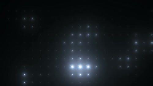 Flashing Spotlight Wall stage