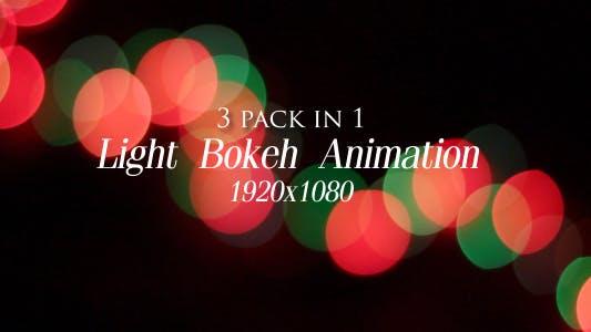 Thumbnail for Light Bokeh Animation Pack 3