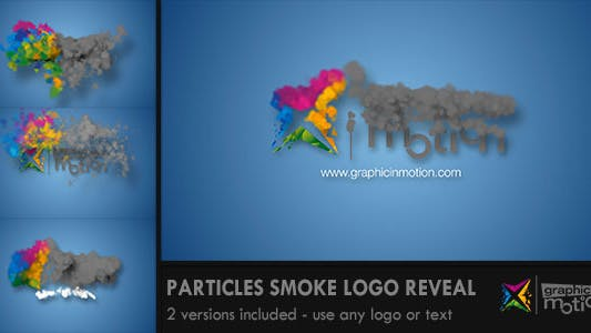 Thumbnail for Particles Smoke Logo Reveal