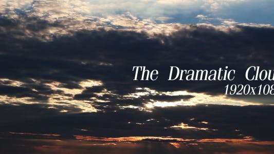 Thumbnail for The Dramatic Cloud
